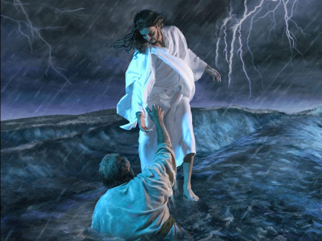 Jesus Walks On Water Wallpaper August | 2011 | Princi...
