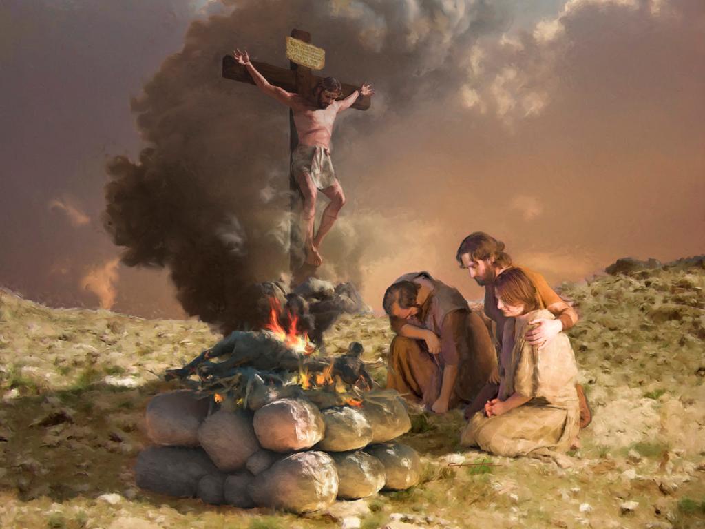 Jesus the Sacrificial Lamb
