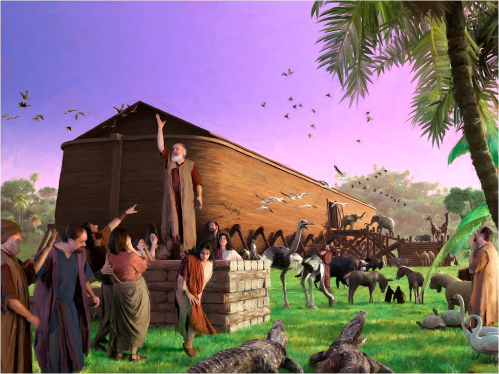 the life of noah A life-sized replica of noah's ark may soon be hitting the atlantic ocean — but  don't worry, there's no forecast for genocidal floods (that we.