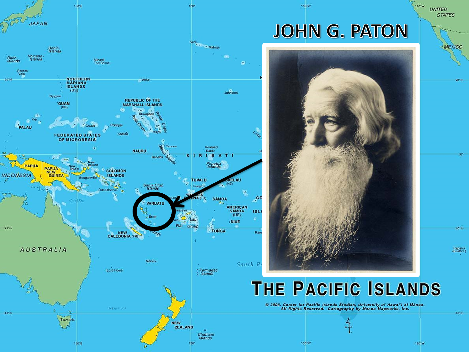 Truth for Today: John Paton: Taking Christ to the Cannibals