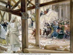 James_Tissot_The_Jews_Took_Up_Rocks_to_Stone_Jesus_700
