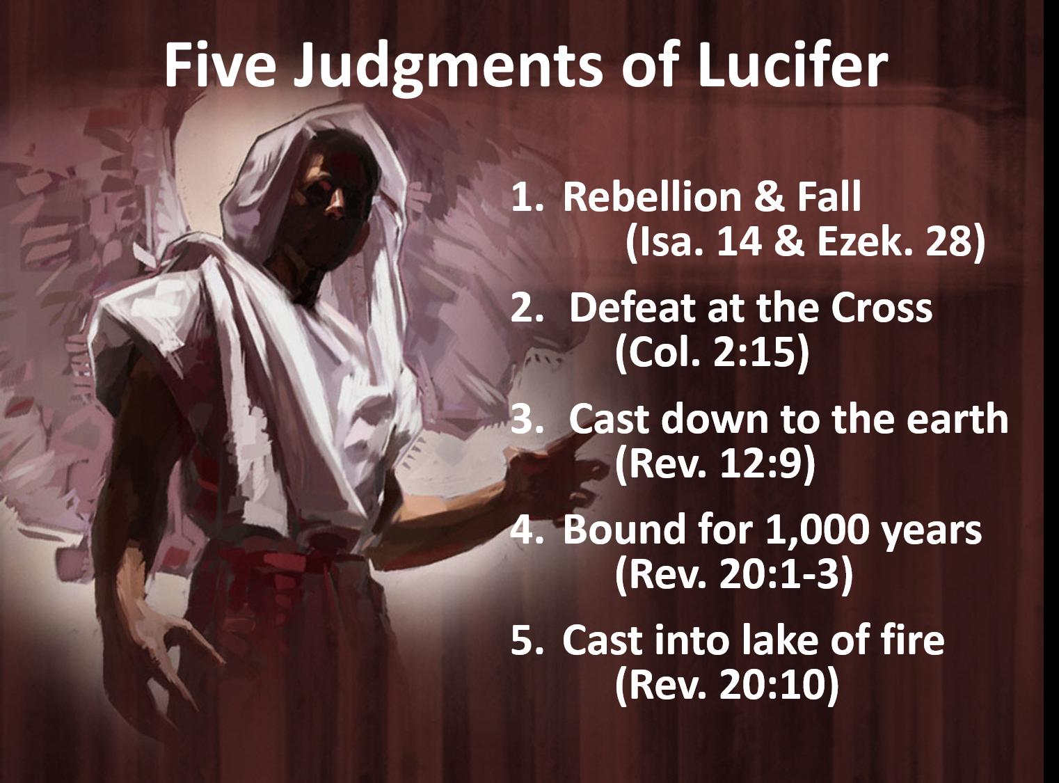 Image result for Lucifer's rebellion against God