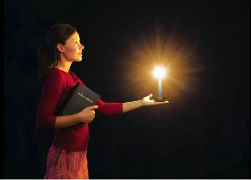 bible-light-girl