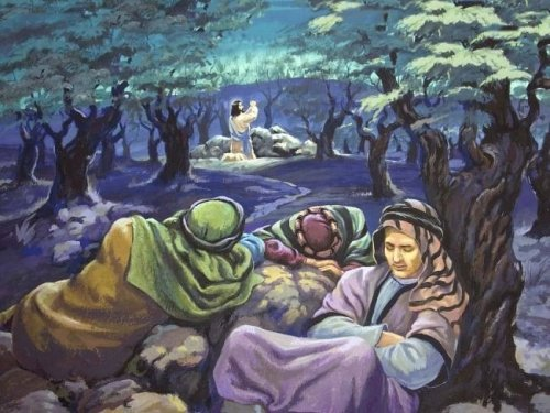 the-disciples-sleep-as-jesus-prays-picture-from-biblessonsite-org-650-x-488